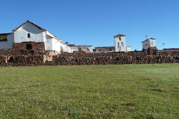Chinchero ruins below church